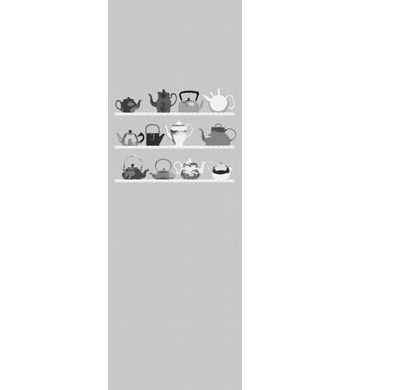 Mr Perswall Teatime Shelf Mural - Product code: DM217-2