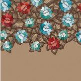 Mr Perswall Flowers Mural - Product code: DM219-2