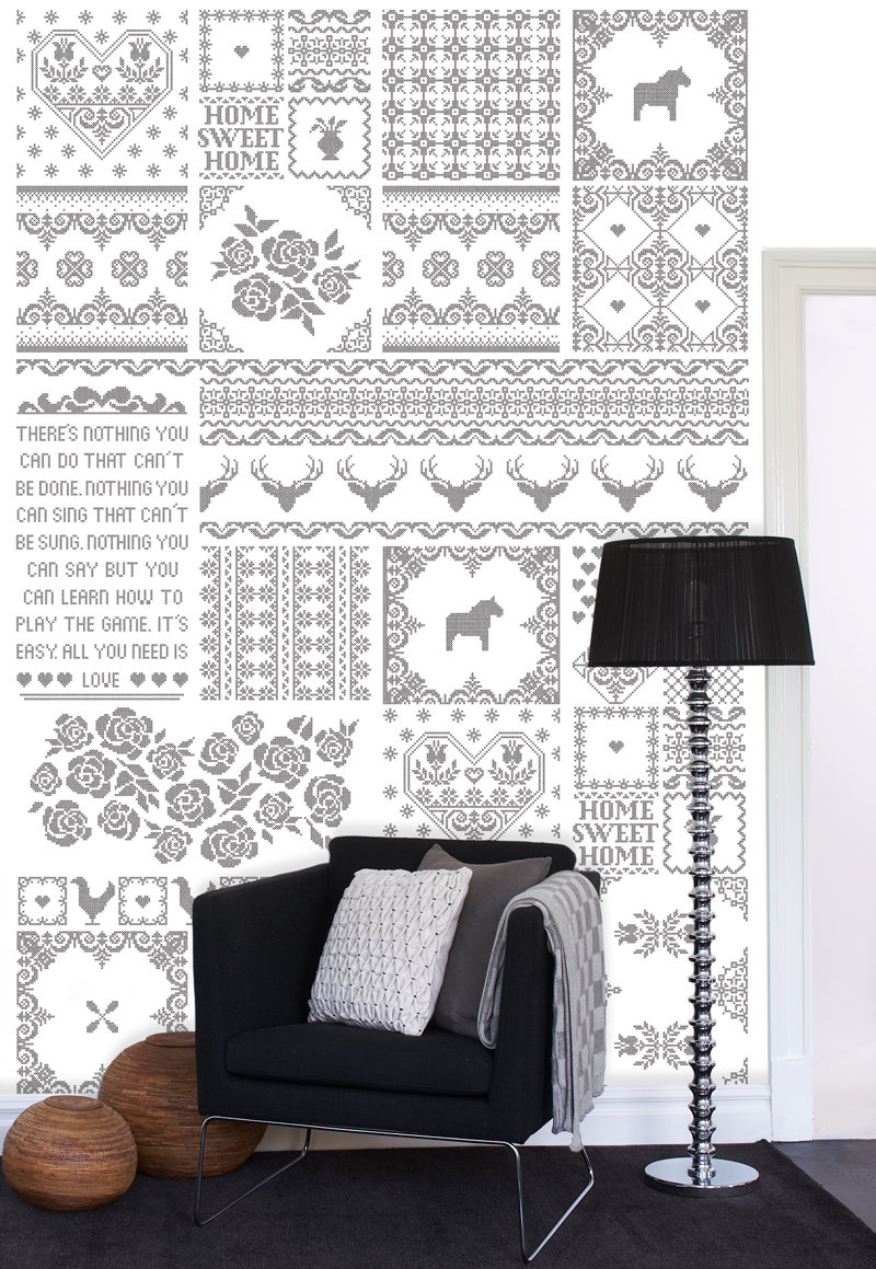 Mr Perswall Patchwork of Love Mural - Product code: P010701-W