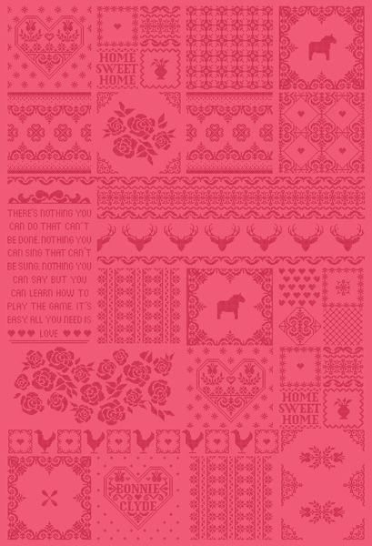Mr Perswall Patchwork of Love Mural - Product code: P010702-W