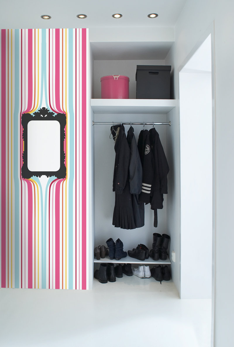 Mr Perswall Stripes with a twist Mural - Product code: P010801-W