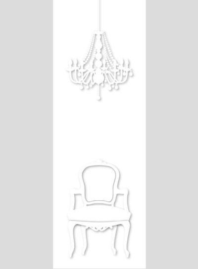 Mr Perswall A Ghostly Fashion Mural  - Product code: P010902-W
