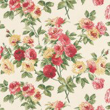 Sanderson Eglantine Pink / Yellow Wallpaper