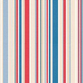 Harlequin Rush Red / Blue / Beige Wallpaper - Product code: 70535