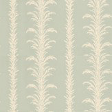 Little Greene Lauderdale White / Duck Egg Wallpaper - Product code: 0273LAVILLA