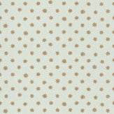Little Greene Lower George Street Gold / Duck Egg Wallpaper
