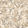 Sanderson Primavera Linen / Gold Wallpaper
