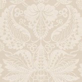 G P & J Baker Perandor Damask Cream / Beige Wallpaper