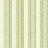 Albany Ornate Stripe Peppermint  Wallpaper
