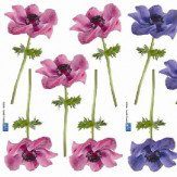Creative Wall Art Small Anemones stickers
