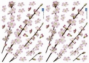 Image of Creative Wall Art Stickers Small Cherry Blossom stickers, 157019