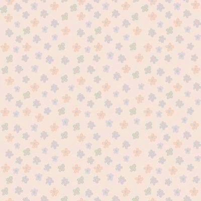 flowers cartoon background. Raffi Wallpaper Sweet Flowers