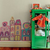 Brewers Giant Wallsticker Dollhouses