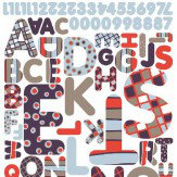 Brewers Maxi Sticker Alphabet