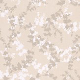 Laura Ashley Hawthorn  Pale Bamboo Wallpaper