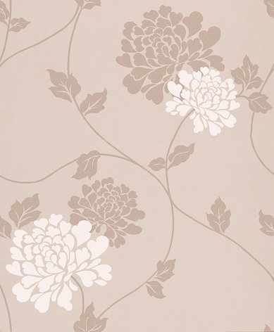 Laura Ashley Isodore Truffle Wallpaper - Product code: 3439797