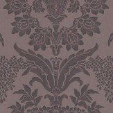 Zoffany Long Gallery Aubergine Wallpaper