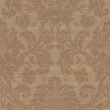 Zoffany Crivelli Bronze Wallpaper main image