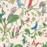 Osborne & Little Cockatoos Multi Wallpaper - Product code: W6060/01