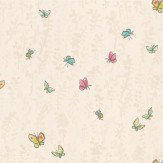 Osborne & Little Butterfly Meadow Beige Wallpaper