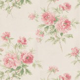 Sanderson Adele Pink / Cream Wallpaper - Product code: DCAVAD101