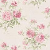 Sanderson Adele Pink / Ivory Wallpaper - Product code: DCAVAD104