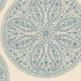 Sanderson Paisley Circles Wallpaper