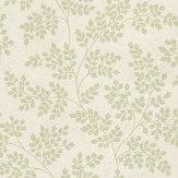 Sanderson Coralie Cream / Green Wallpaper - Product code: DCAVCO103