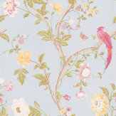 Laura Ashley Summer Palace  Duck Egg  Wallpaper