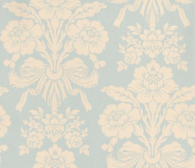 Wallpaper Calculator on Value Laura Ashley Agapanthus Wallpaper   Pale Duck Egg   35 94 Inc