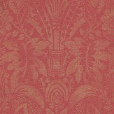 Zoffany Havana Red Wallpaper