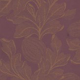 Zoffany Caspia Aubergine Wallpaper