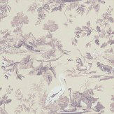 Sanderson Aesops Fables Fig Purple Wallpaper - Product code: DCAVAE102