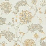 Sanderson Palampore Silver/Gold Silver / Gold Wallpaper - Product code: DCAVPA105