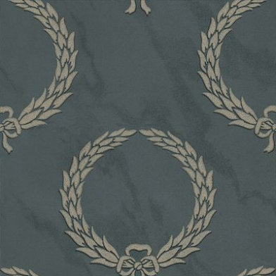 Zoffany Wallpapers Gustavus Graphite, GUV04004