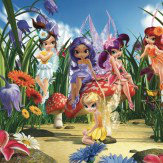 Walltastic Magical Fairies Mural Multi-coloured - Product code: 40359
