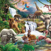 Walltastic Jungle Adventure Mural - Product code: 41776