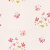 Camengo Allover Butterflies and Flowers Wallpaper