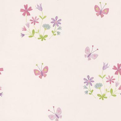 Image of Camengo Wallpapers Allover Butterflies and Flowers, 928 31 29