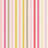 Camengo Multicoloured Stripe Wallpaper