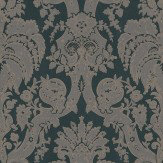 Zoffany Little Venice Charcoal Wallpaper