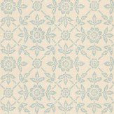 Zoffany Pergola Duckegg Wallpaper