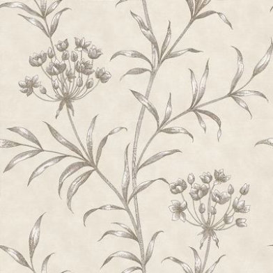 Image of Zoffany Wallpapers Agapanthus Linen, ZPAW04002