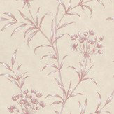 Zoffany Agapanthus Red Wallpaper