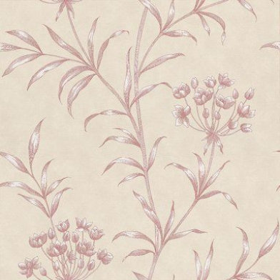 Image of Zoffany Wallpapers Agapanthus Red, ZPAW04004