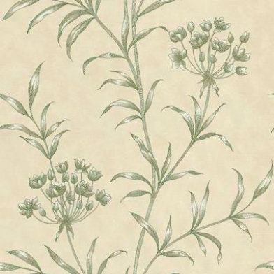 Image of Zoffany Wallpapers Agapanthus Green, ZPAW04005