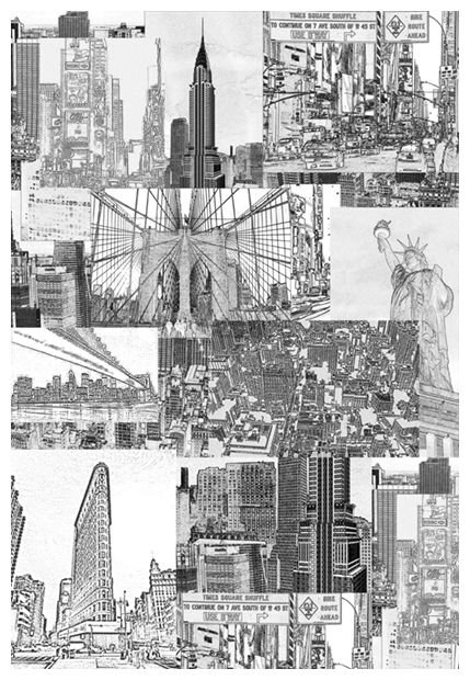 Mr Perswall New York Mural - Product code: P111101-4