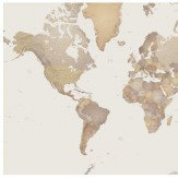 Mr Perswall World Map Mural - Product code: P111501-0