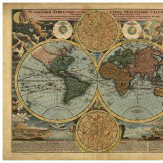 Mr Perswall World Map Mural - Product code: P111502-7