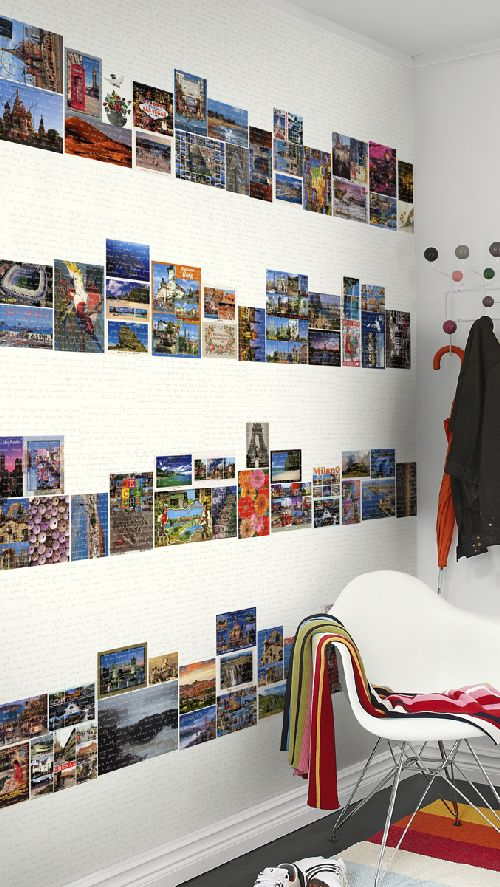 Mr Perswall Postcards Mural - Product code: P112102-4